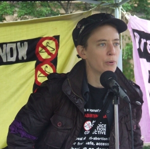 Kathy Newnham of the Pro-Choice Action Collective - File Photo